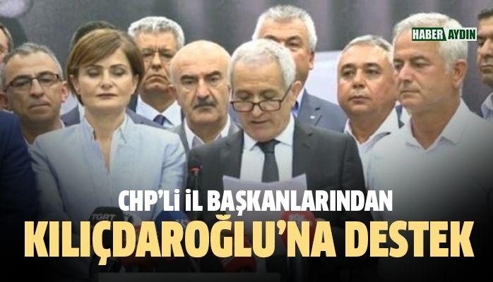 Kılıçdaroğlu'na destek açıklaması