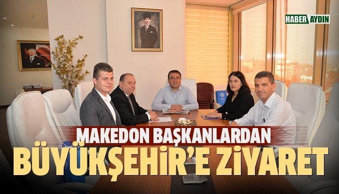 Makedon Belediye Başkanlarından Aydın Büyükşehire ziyaret
