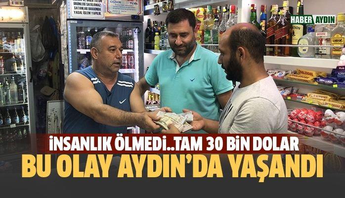 Bu olay Aydın'da yaşandı