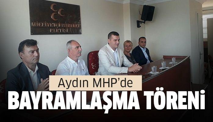 Aydın MHP'de bayramlaşma töreni