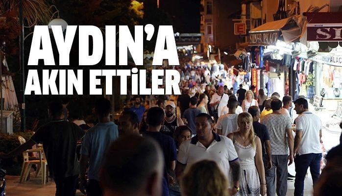 Aydın'da turizmci de bayram bereketi yaşadı