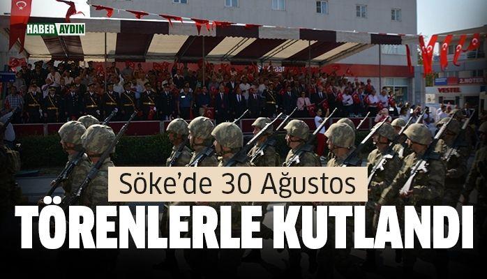 Söke'de 30 Ağustos Zafer Bayramı kutlamaları