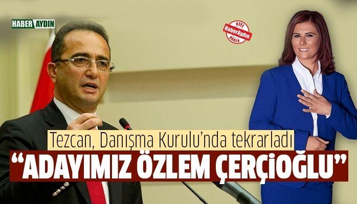 """Adayımız Özlem Çerçioğlu"""