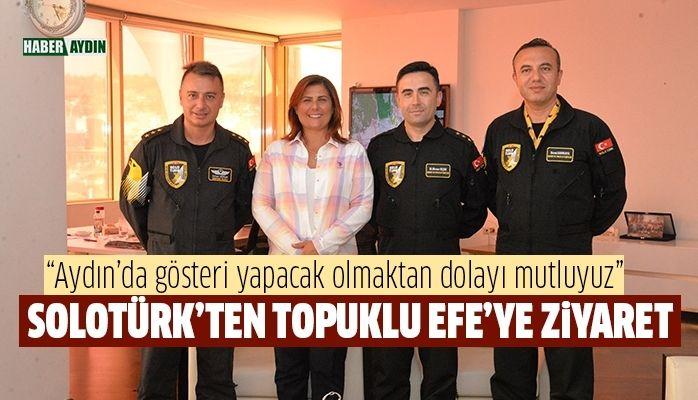 SoloTürk'ten Başkan Çerçioğlu'na Ziyaret