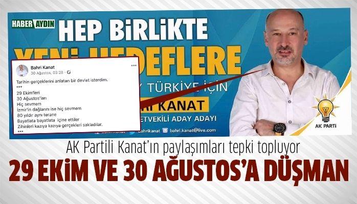 AK Partili Kanat'tan Cumhuriyet düşmanı paylaşımlar