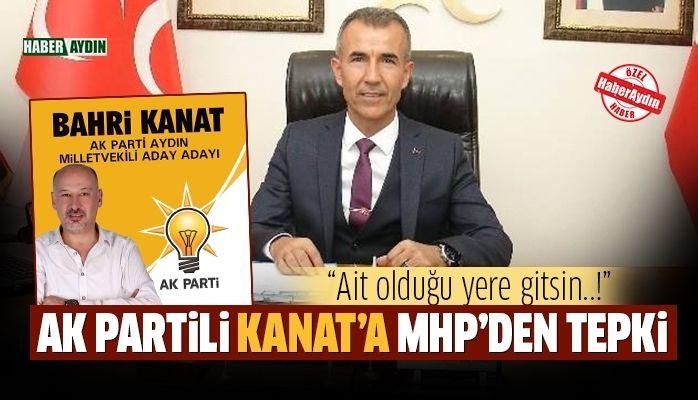 AK Partili Kanat'a MHP'den tepki