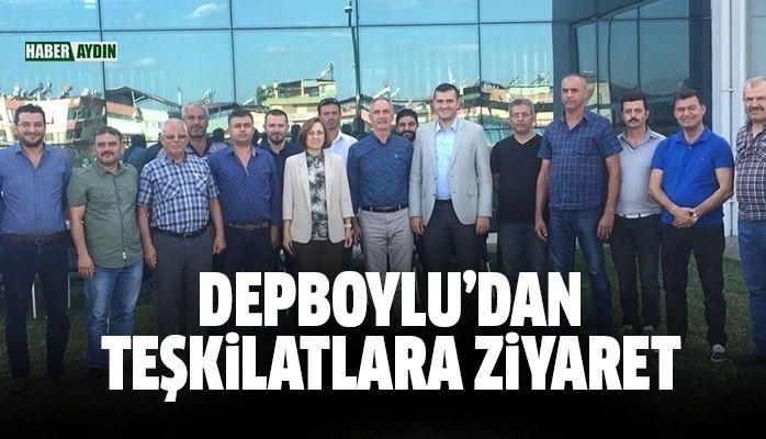 MHP Genel Başkan Yardımcısı Depboylu'dan teşkilatlara ziyaret