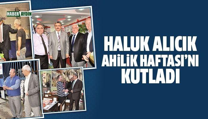 Başkan Alıcık, Ahilik Haftasını kutladı