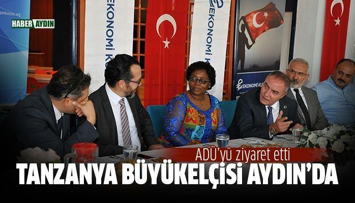 Tanzanya Büyükelçisi Aydın'da