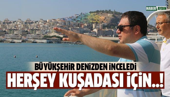 """KARAKOZ:""""KUŞADASI'NDA 12 AY DEVAM EDEN TURİZM İSTİYORUZ"""""""