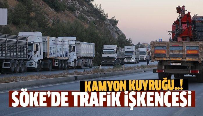 Söke'de trafik işkencesi