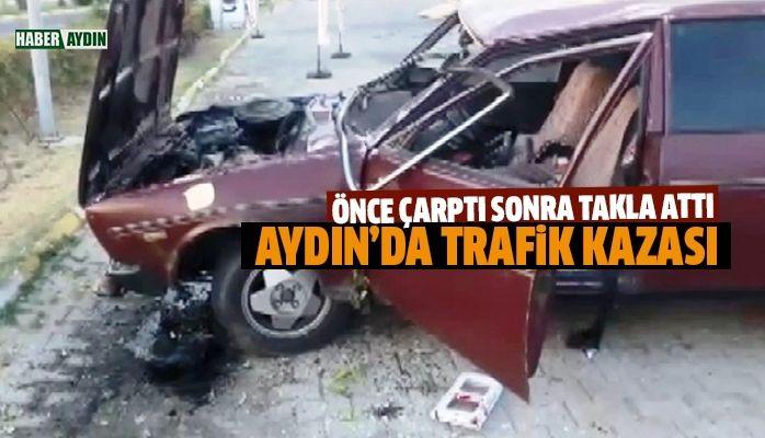 Aydın'da kaza