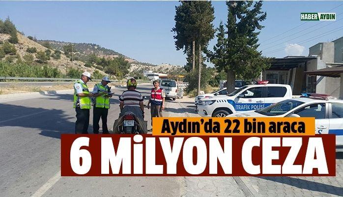 6 milyon ceza kesildi