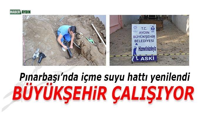 Pınarbaşı'nda içme suyu hattı yenilendi
