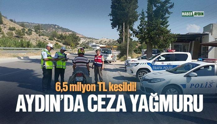 Aydın'da ceza yağmuru
