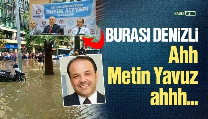 Metin Yavuz'un Denizli açıklaması şaşırttı