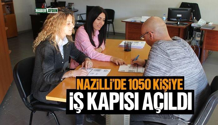 Nazilli Belediyesi, 1050 kişiyi iş sahibi yaptı