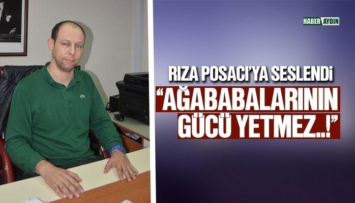 CHP Efeler İlçe Başkanı Polat Bora Mersin'den sert açıklama