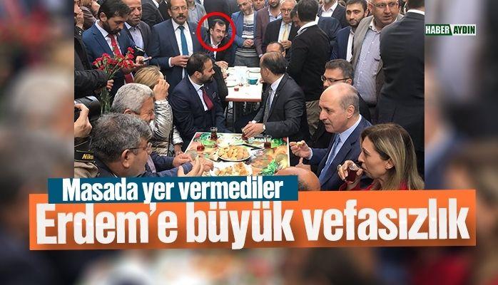 Mehmet Erdem'e büyük vefasızlık