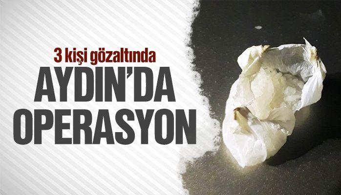 Aydın'da operasyon.. 3 şüpheli yakalandı!