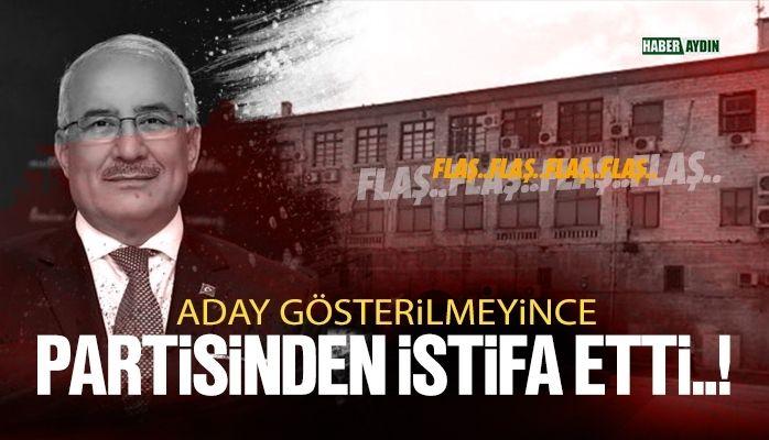 Türkiye siyasetinde deprem.. İstifa etti.!