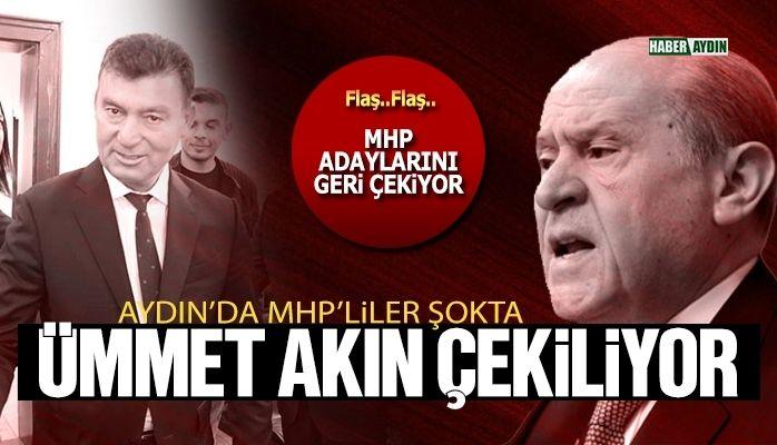 Önemli isimden açıklama geldi.. MHP adaylarını çekiyor
