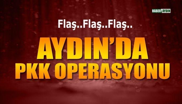 Aydın'da PKK operasyonu.. 6 kişi gözaltında..