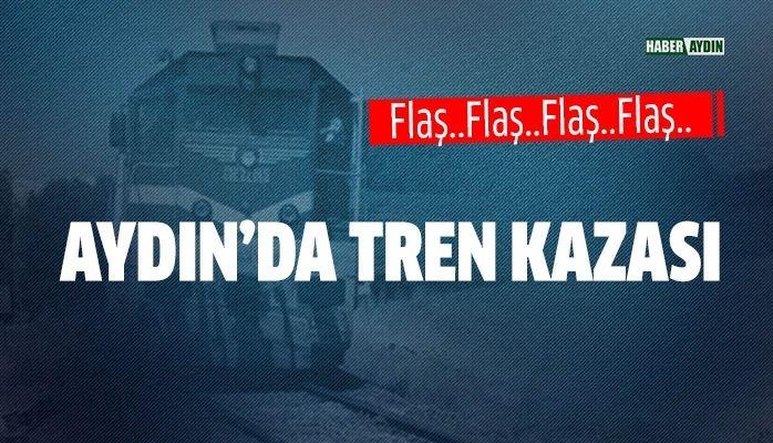 Aydın'da tren kazası.. Korkunç haber!