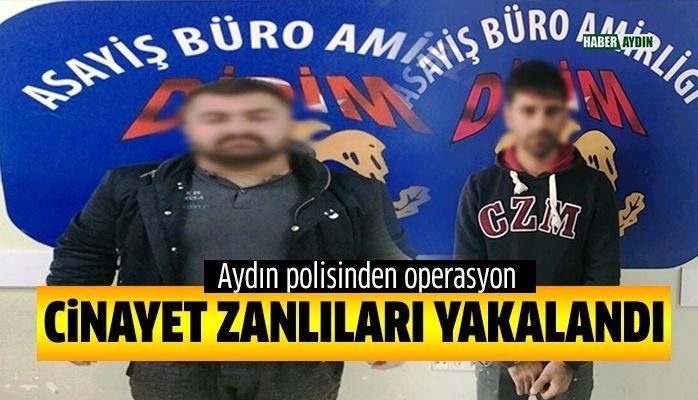Aydın polisinden operasyon.. Kıskıvrak yakalandılar!