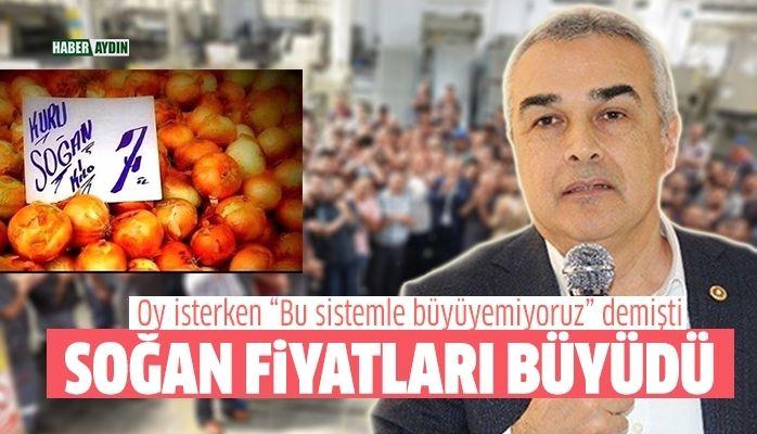 Soğan fiyatları akıllara Savaş'ın açıklamalarını getirdi
