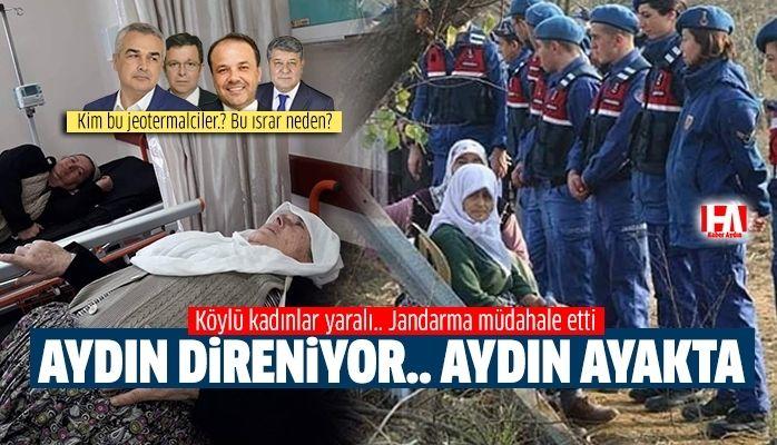 Aydın'da köylü kadınlar hastaneye kaldırıldı.. AK Parti'li vekiller sessiz