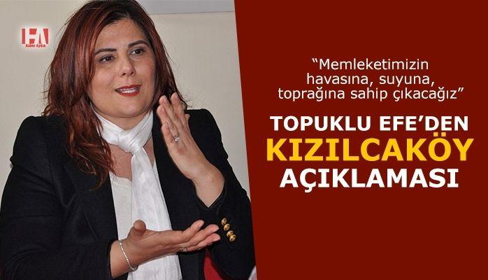 Topuklu Efe'den Kızılcaköy'e destek