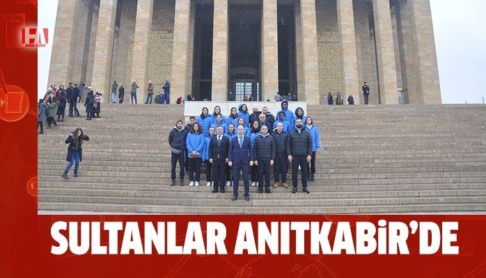 Aydın'ın Sultanları Anıtkabir'i ziyaret etti