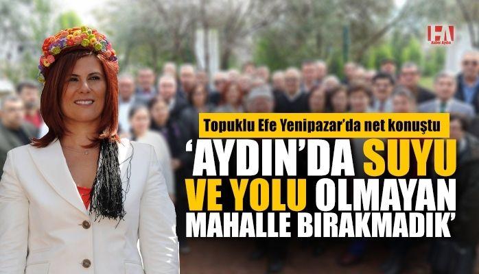 Başkan Çerçioğlu: Aydın Büyümeye Devam Ediyor