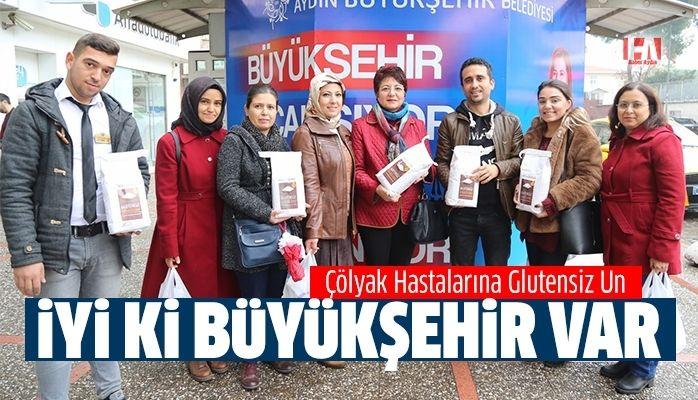 Aydın Büyükşehir'den Çölyak Hastalarına Glutensiz Un