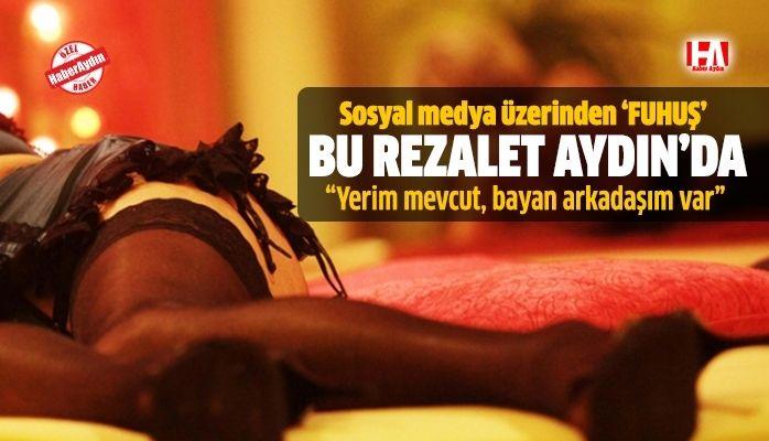 Aydın'da online fuhuş