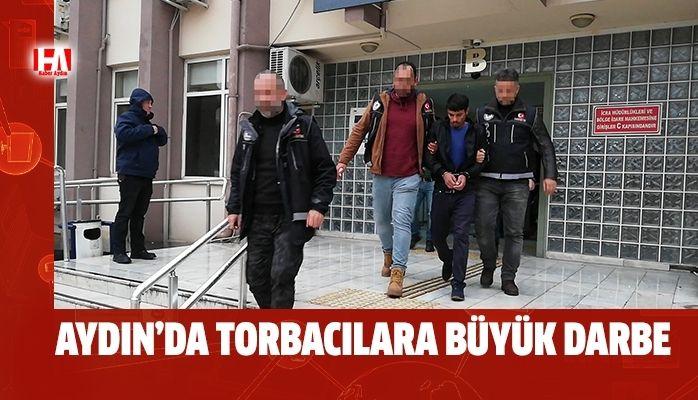 Aydın'da torbacılara büyük darbe..!