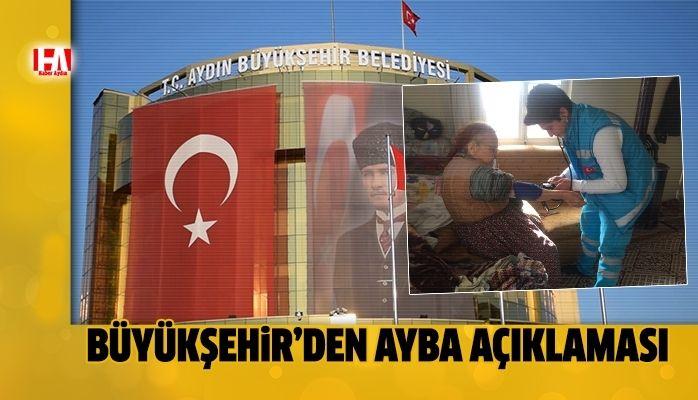Büyükşehir'den AYBA açıklaması