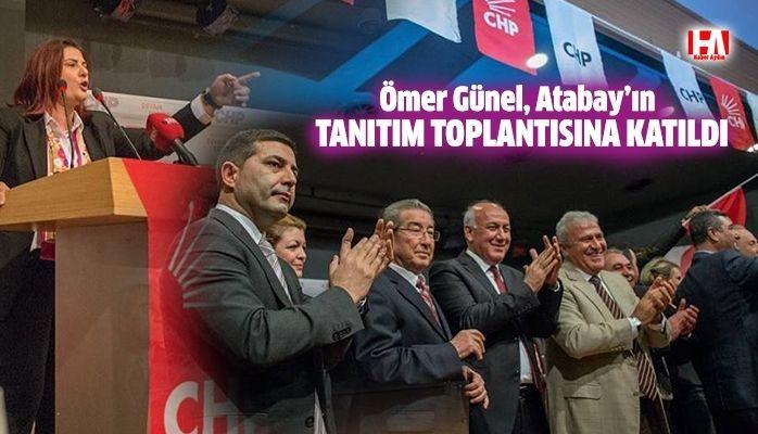 Ömer Günel, Ahmet Deniz Atabay'ın tanıtım toplantısına katıldı