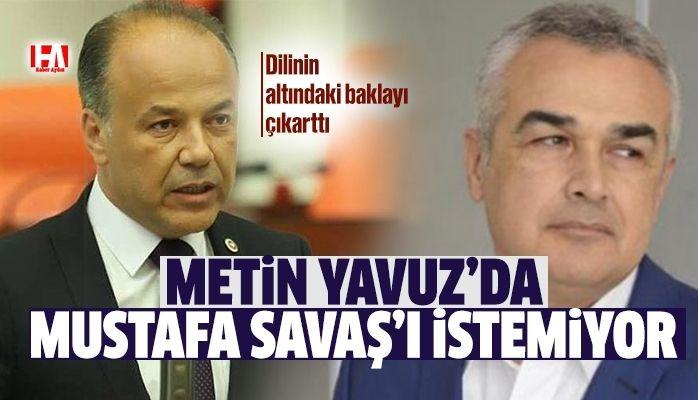 Metin Yavuz'dan şok açıklama