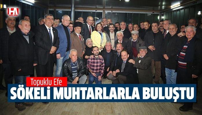 Sökeli Muhtarlar Başkan Çerçioğlu'yla Devam Dedi