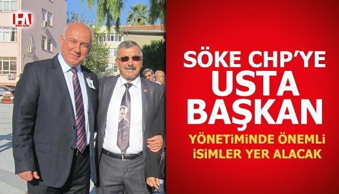 Söke CHP'ye usta başkan