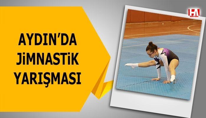 Aydın'da jimnastik yarışması gerçekleştirildi