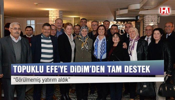 Başkan Çerçioğlu'na Didim'den Tam Destek