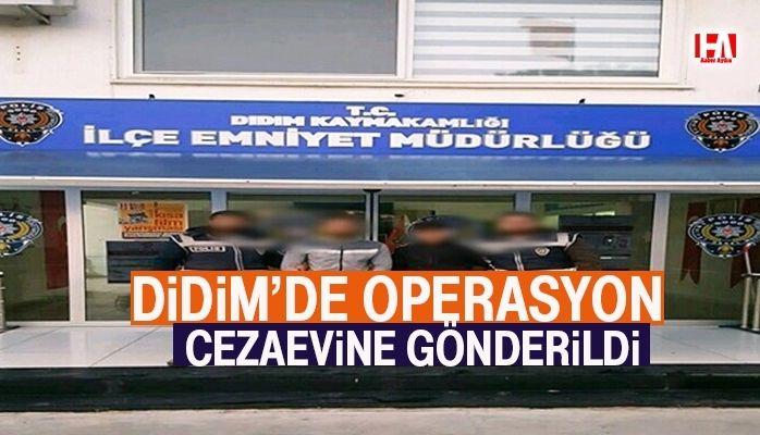 Didim'de operasyon