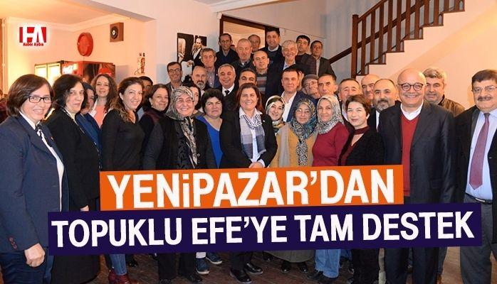 Yenipazar'dan Başkan Çerçioğlu'na Tam Destek