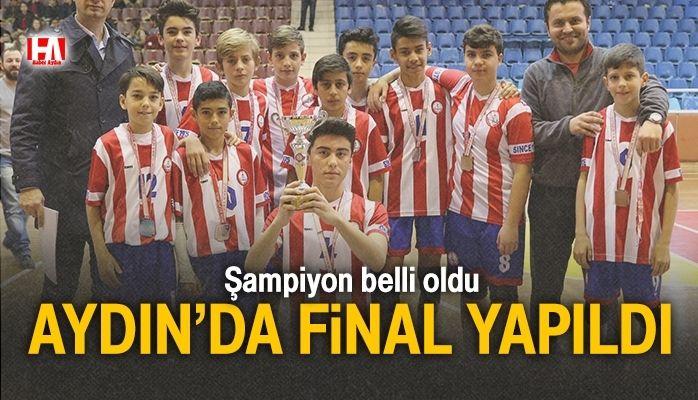 Aydın'da final yapıldı