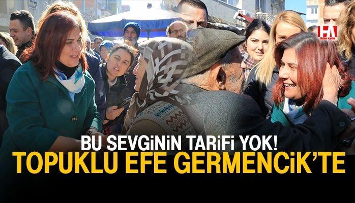 Başkan Çerçioğlu Germencik Pazarı'nı Ziyaret Etti