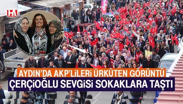 Aydın'da AKP'lileri ürküten görüntü