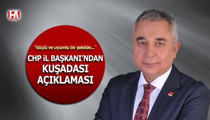 CHP Aydın İl Başkanı Ali Çankır açıklama yaptı